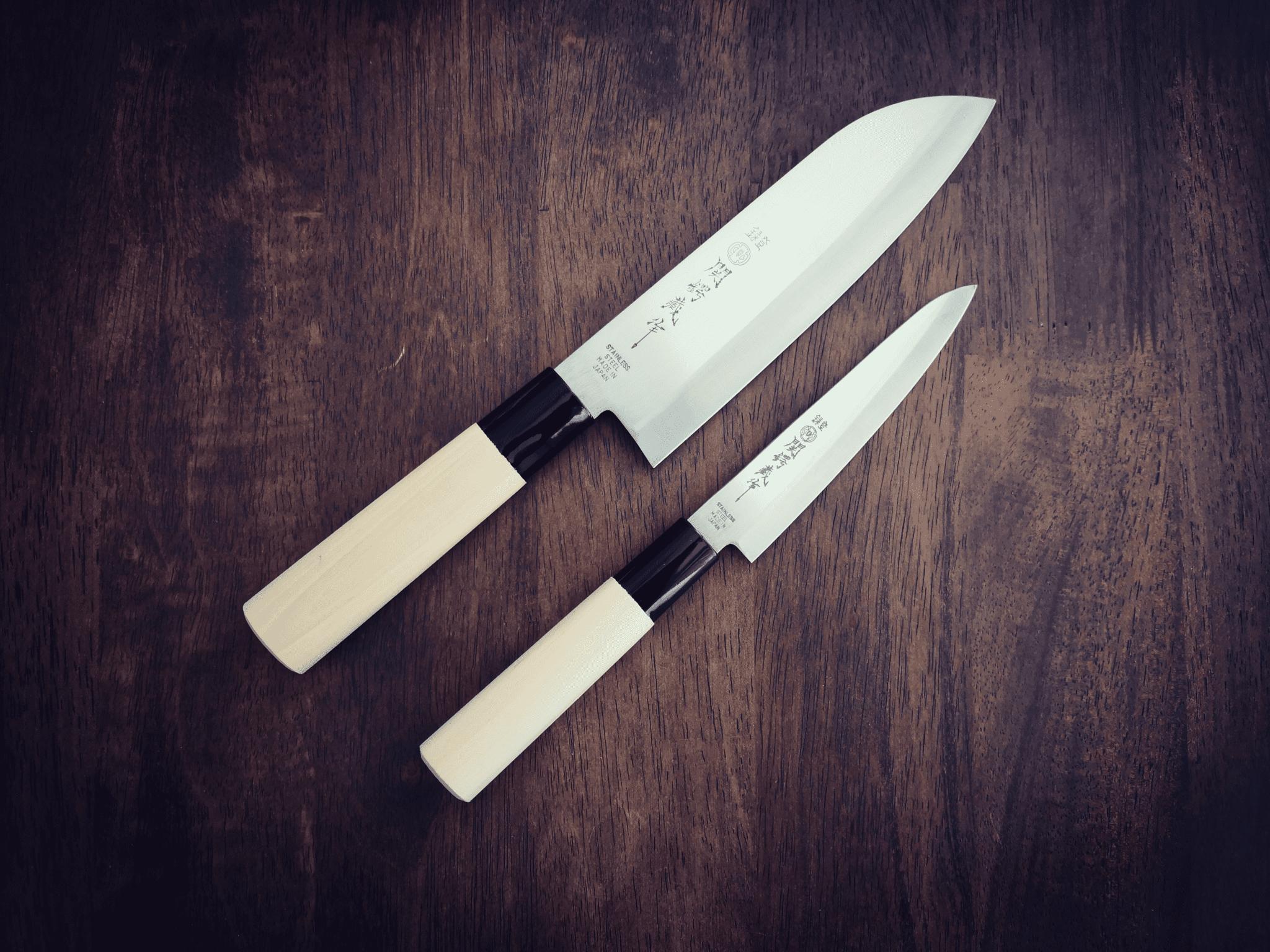Knivsett Kokkekniv/Santoku, gavesett, kokkekniver, kjøkkenkniv, kjøkkekniver tilbud, gavesett Suncraft